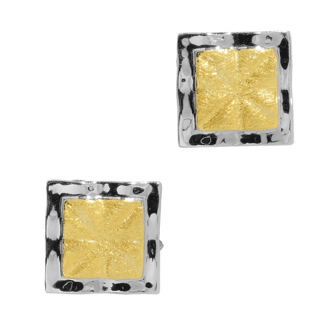 Ladies Shipton and Co Exclusive Silver Classic Geometry Earrings TNI002NS