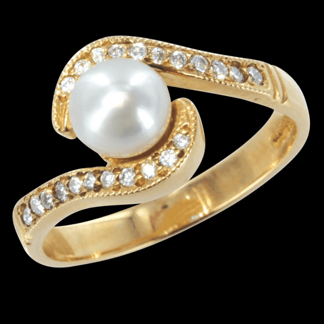Ring 9ct X092 Cultured Pearl