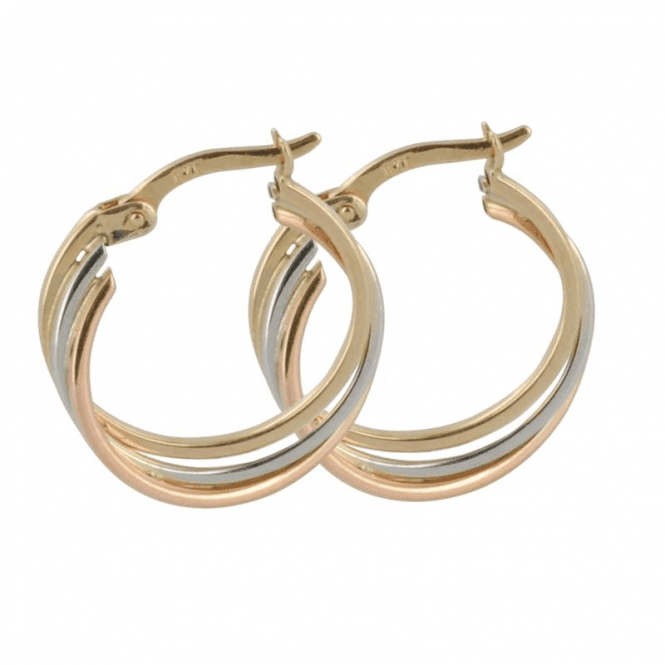 Ladies Shipton and Co 9ct Yellow Gold Hoop Earrings TAR405NS