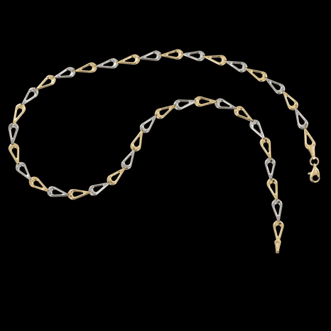 Shipton and Co Ladies Shipton and Co 9ct Yellow Gold Necklace TAR420NS