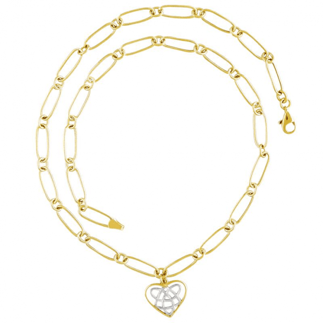 Shipton and Co Ladies Shipton and Co 9ct Yellow Gold Necklace TAR453NS