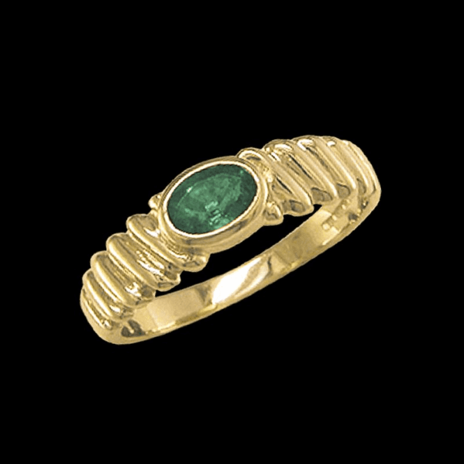 Ring 9ct 1598 Emerald