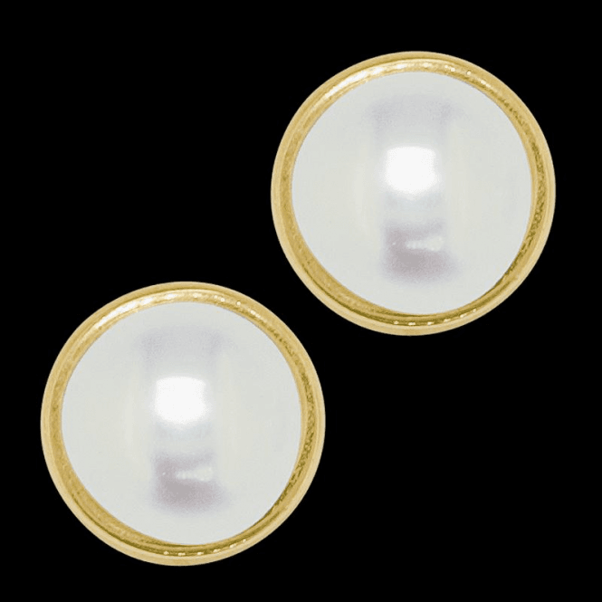 Ladies Shipton and Co 9ct Yellow Gold and Freshwater Pearls Earrings EY1934FP