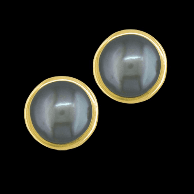 Shipton and Co Ladies Shipton and Co 9ct Yellow Gold and Freshwater Pearls Earrings EY1934FP2