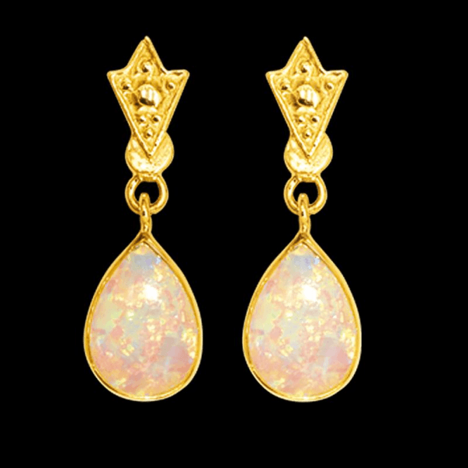 Shipton and Co Earring 9ct 1615 Opal