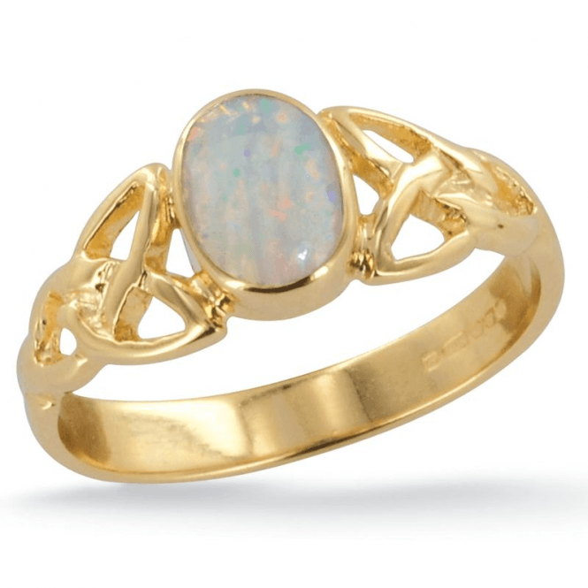 Ladies Shipton and Co Exclusive 9ct Yellow Gold and Opal Ring RY1769OP