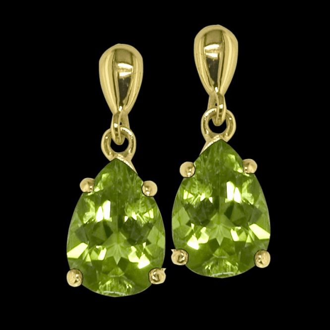Shipton and Co Ladies Shipton and Co 9ct Yellow Gold and Peridot Earrings EY2045PE