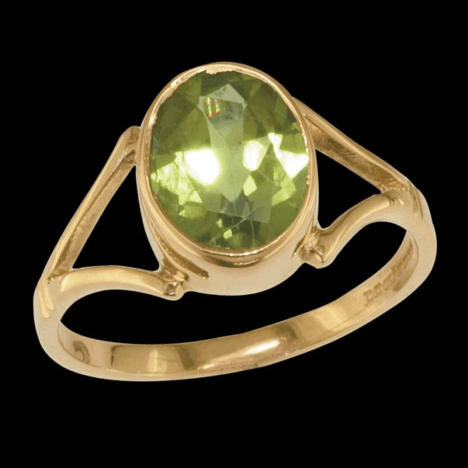 Shipton and Co Ladies Shipton and Co Exclusive 9ct Yellow Gold and Peridot Ring RY1410PE