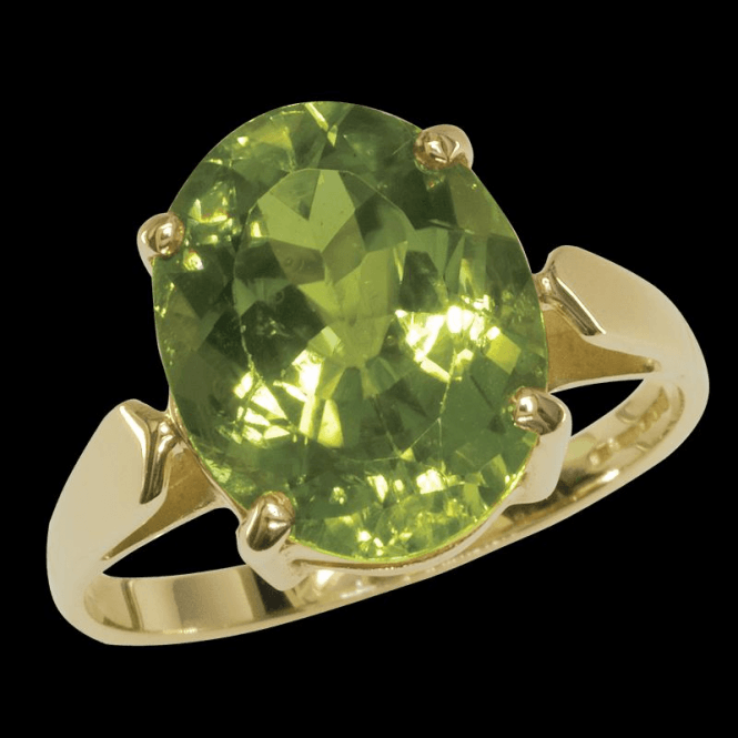 Shipton and Co Ladies Shipton and Co Exclusive 9ct Yellow Gold and Peridot Ring RY1984PE