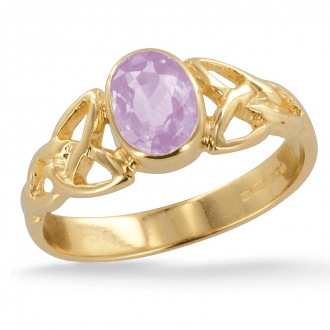 Rare ¾ct Imperial Topaz Ring