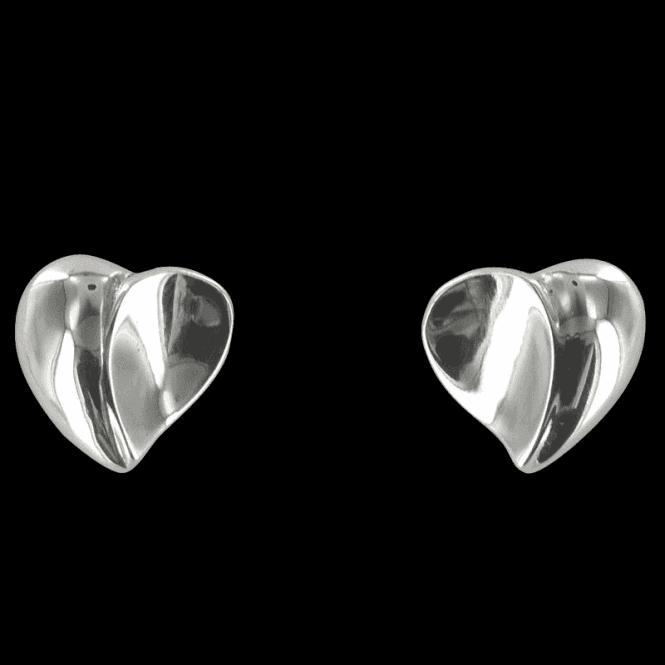3D Hearts Earrings