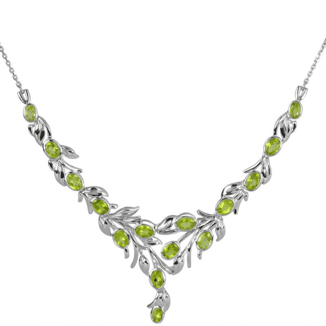Shipton and Co After the Rain Peridot Garlands