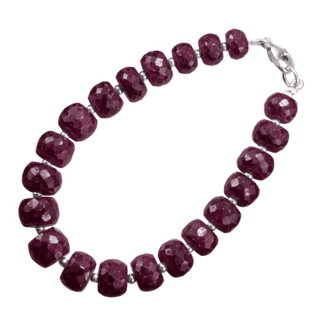 Shipton and Co Precious Ruby with Sterling Silver Contrasts