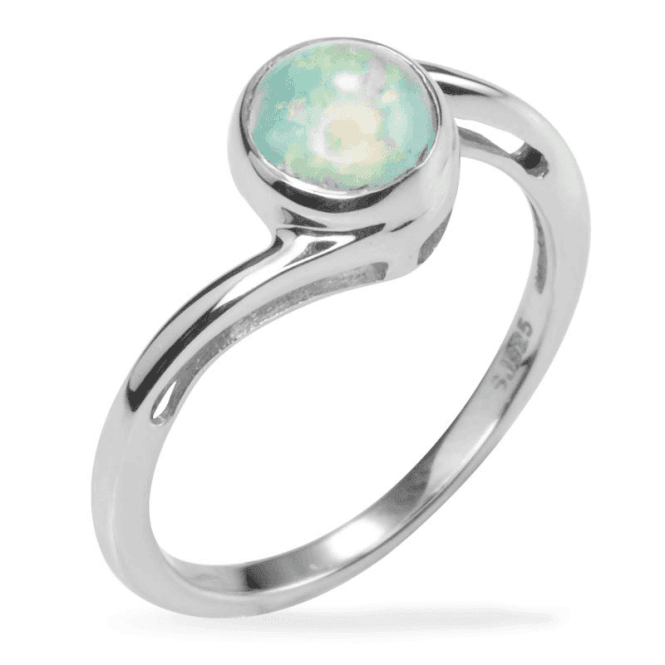 Shipton and Co Abyssinian Opal Ring with a Classical Twist