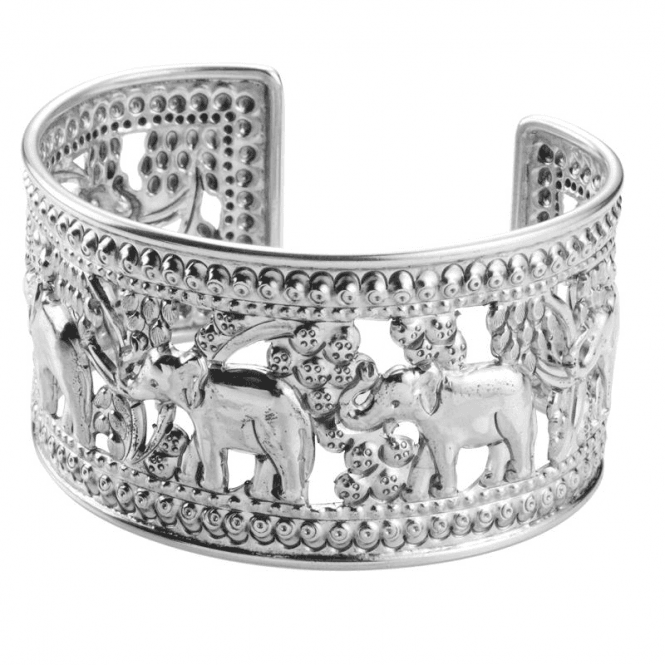 Ladies Shipton and Co Silver Bangle TFE018NS