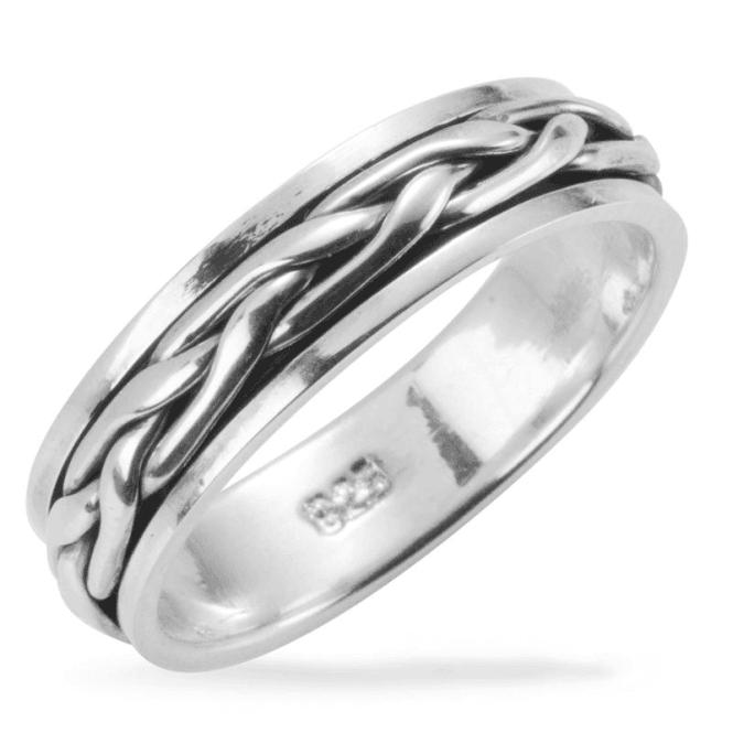 Spinning Ring of Celtic Design