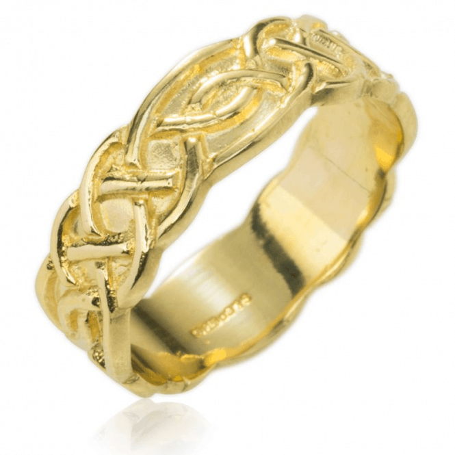 Shipton and Co Ladies Shipton and Co Exclusive 9ct Yellow Gold and No Stones Ring RYC271NS