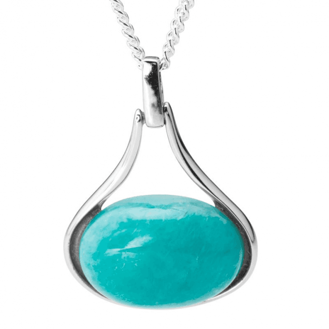 Shipton and Co Amazonite Amulet Pendant
