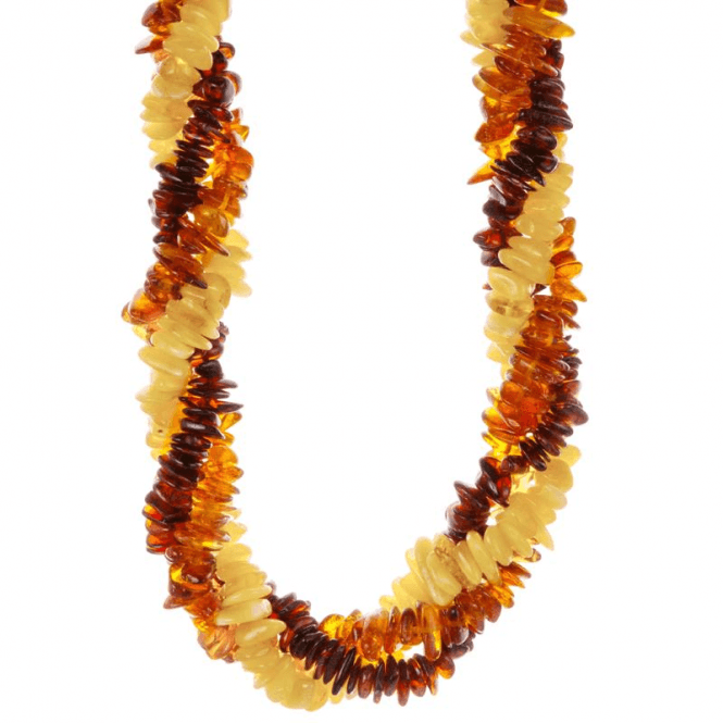 Three-Strand Twist of Tonal Amber