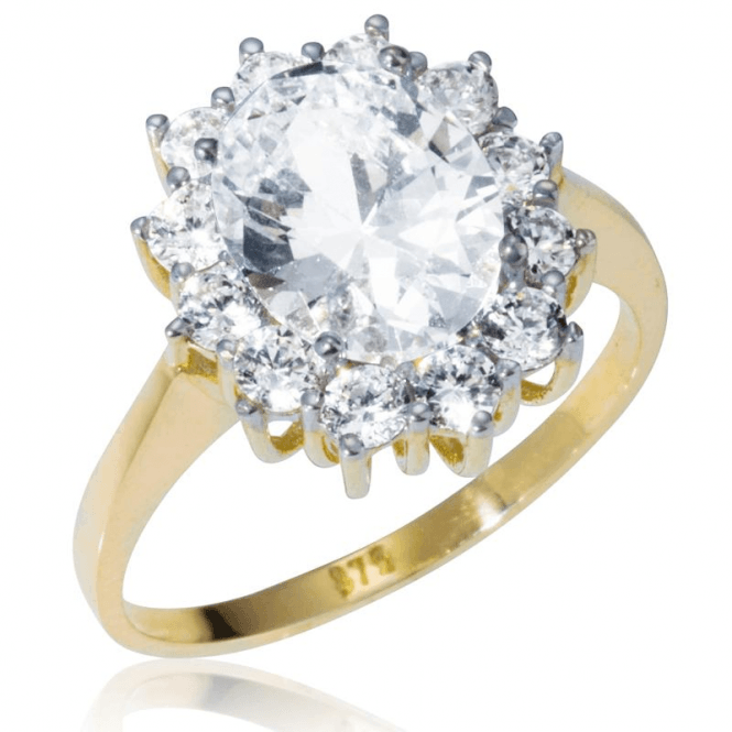 Our Famous Secret Now in a Splendid Cluster Ring