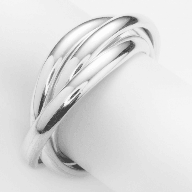 Triple Band Design Inspired by Russian Wedding Rings