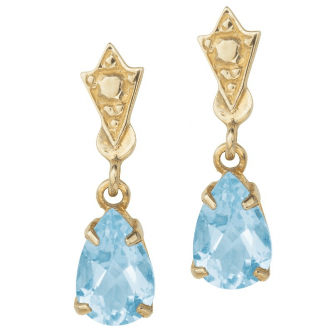Aquamarine Teardrop