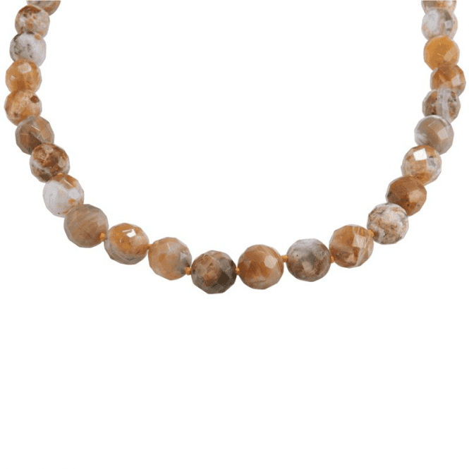 "Shipton and Co 28"" Extravagance of Faceted Brandy Opals"