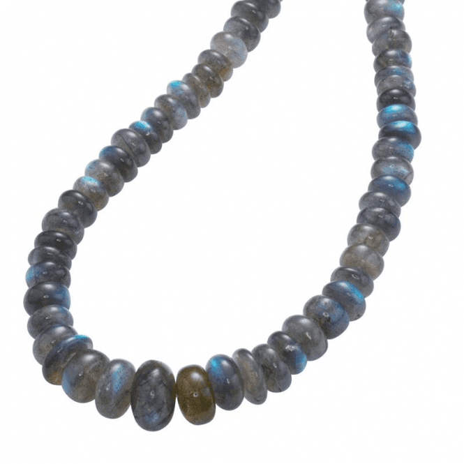 Ladies Shipton and Co Silver and Labradorite Beads BVL003LB