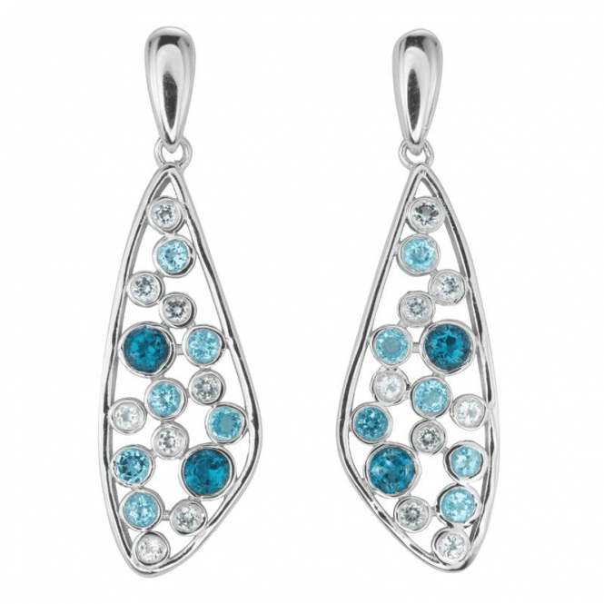 Shipton and Co Ladies Shipton and Co Silver and Blue Topaz  TFE089BTWT
