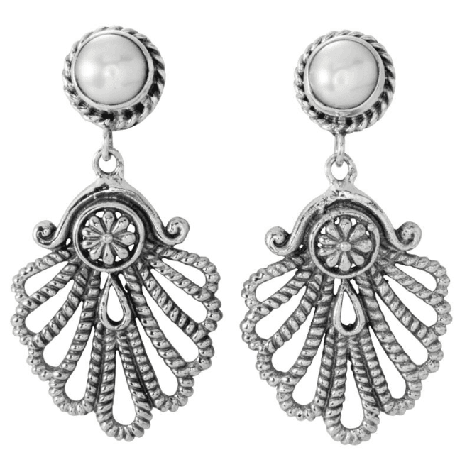 Shipton and Co Ladies Shipton and Co Silver and Freshwater Pearls  TFE106FP