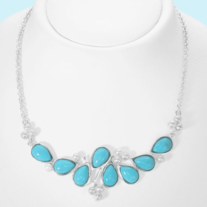 Shipton and Co Prized Premium Turquoise Styled by Jasper May - Necklet