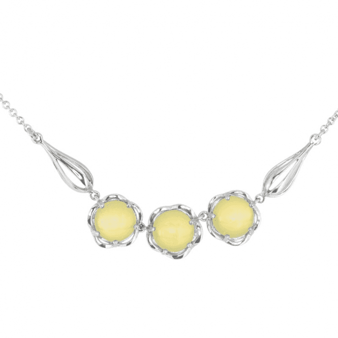 Shipton and Co Ladies Shipton and Co Exclusive Silver and Opal Necklace NQA409OP