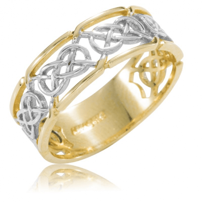 Ladies Shipton and Co 9ct Yellow Gold Celtic Ring TAR590NS
