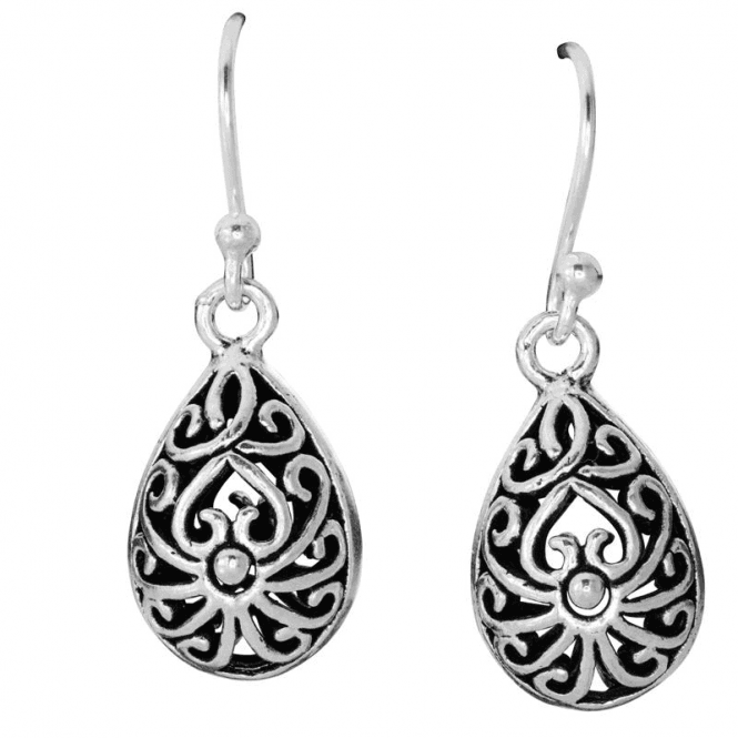 Ladies Shipton and Co Silver Earrings TDA136NS