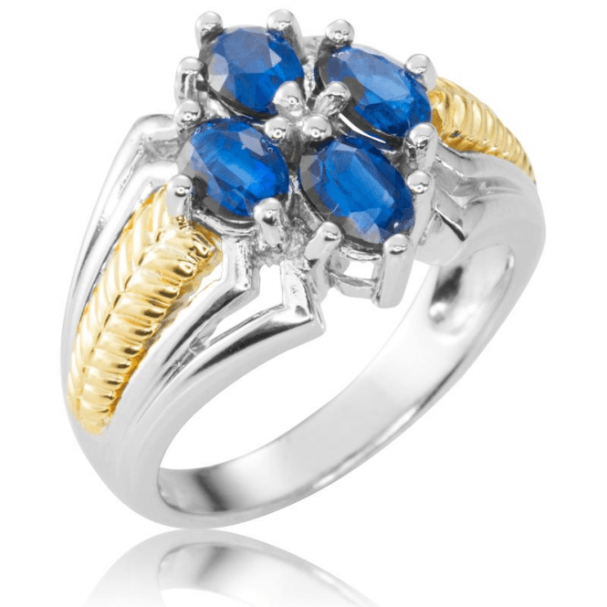 Silver & Gold Artistry ring