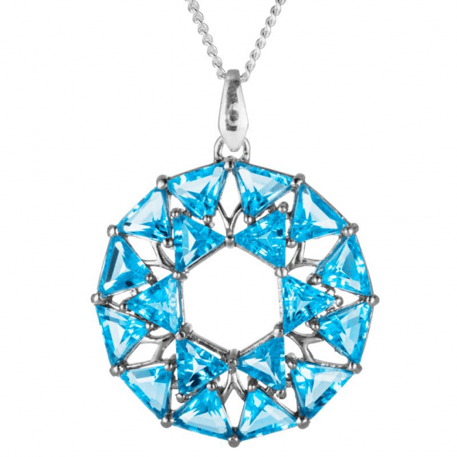 Shipton and Co Art Meets Geometry with 14cts of Swiss Blue Topaz