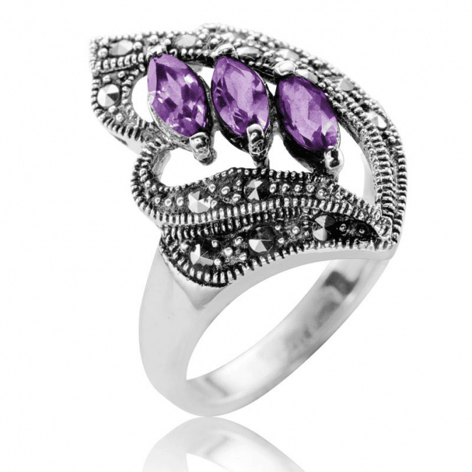 Shipton and Co ¾cts of Premium AAA Quality Amethysts