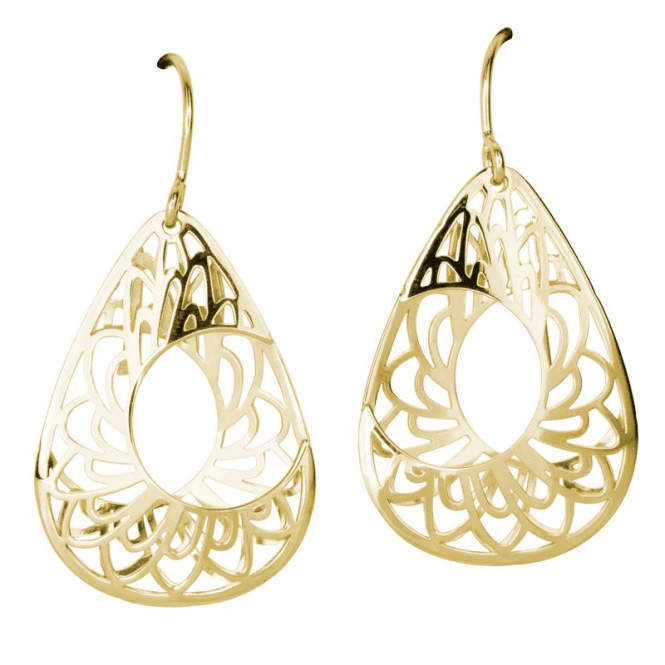 Shipton and Co 3D Aestival Earrings in 9ct Gold