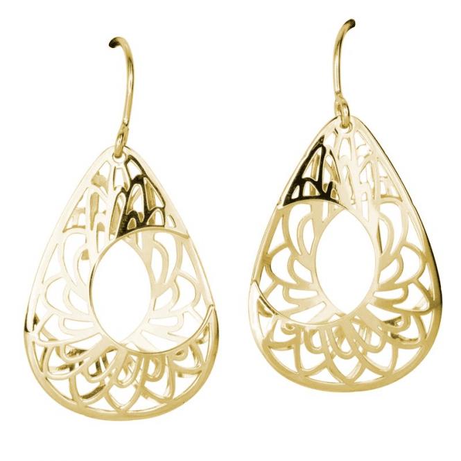 3D Aestival Earrings in 9ct Gold