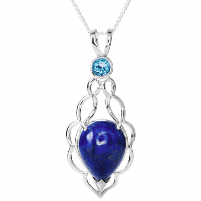 Jewel Lapis & Blue Topaz
