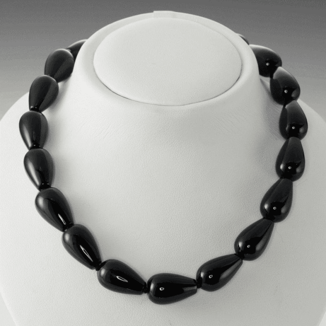 Shipton and Co Ladies Shipton and Co Silver and Onyx Beads BFE044ON