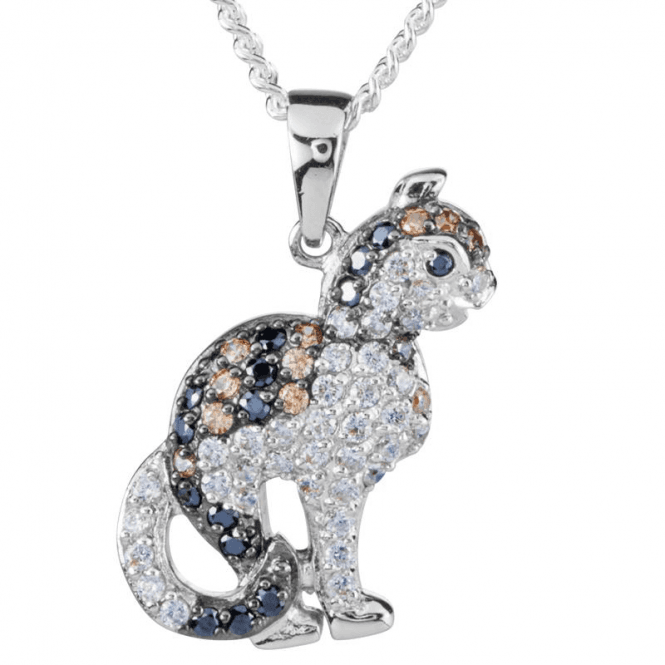 Shipton and Co Ladies Shipton and Co Silver and Cubic Zirconia Pendant including a 16 Silver Chain TFE212CZ