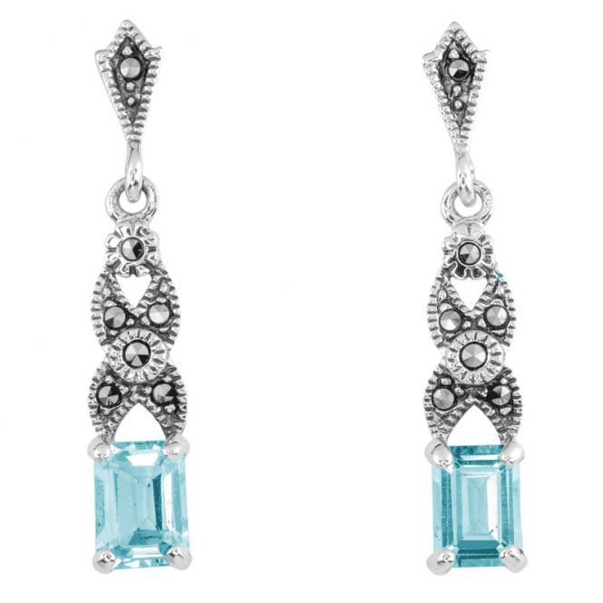 Shipton and Co Ladies Shipton and Co Silver and Blue Topaz  TSV039BTMM