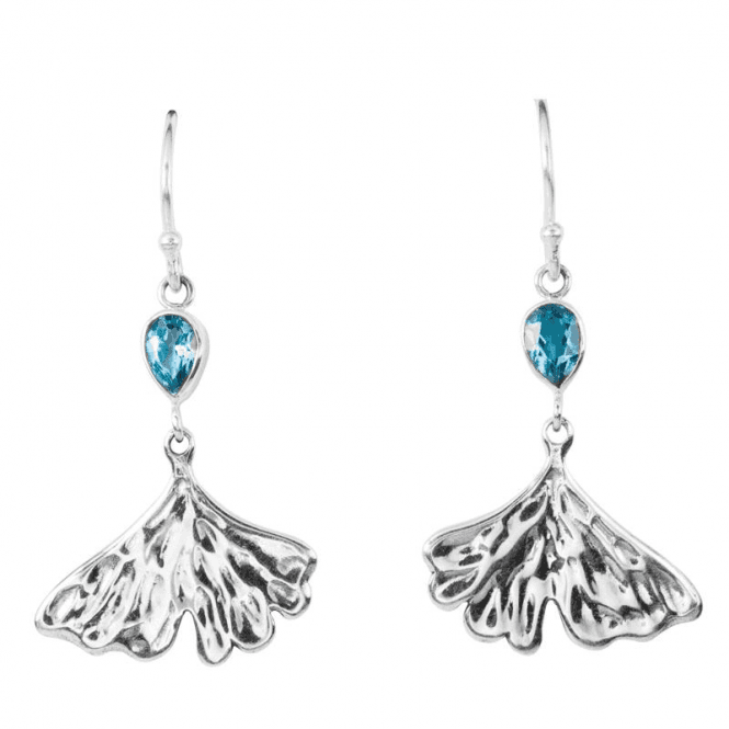 Shipton and Co Ladies Shipton and Co Silver and Blue Topaz  TSS240BT