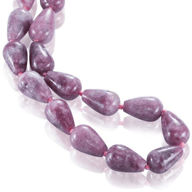 Shipton and Co Ladies Shipton and Co Silver and Lepidolite Beads BKC027LP