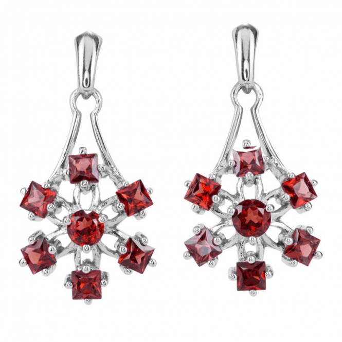 1¾cts of Rich Garnet Earrings Exclusively by Jasper May