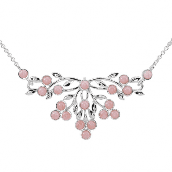 Shipton and Co 3½cts of Hand-Matched Pink Opals in Silver Splendour