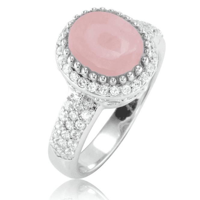 Pink Opal & White Topaz Radiance