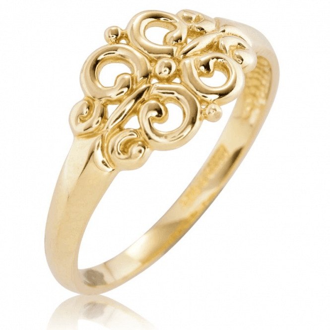 Shipton and Co Ladies Shipton and Co 9ct Yellow Gold Ring TAR624NS