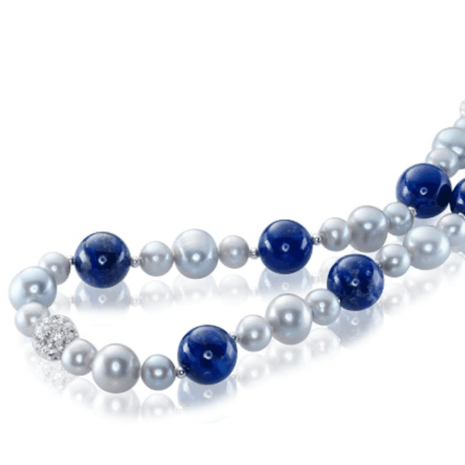 Ladies Shipton and Co Silver and Freshwater Pearls Beads TEN067FPLL